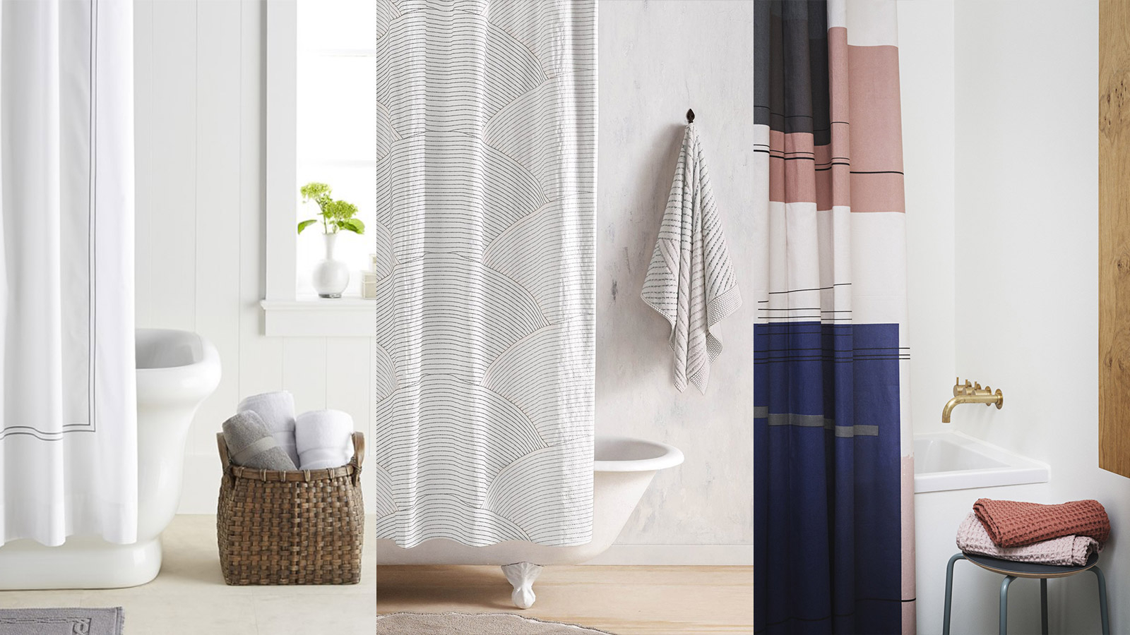 10 Stylish Shower Curtains For A Modern Bathroom 10 Stunning Homes inside measurements 1600 X 900