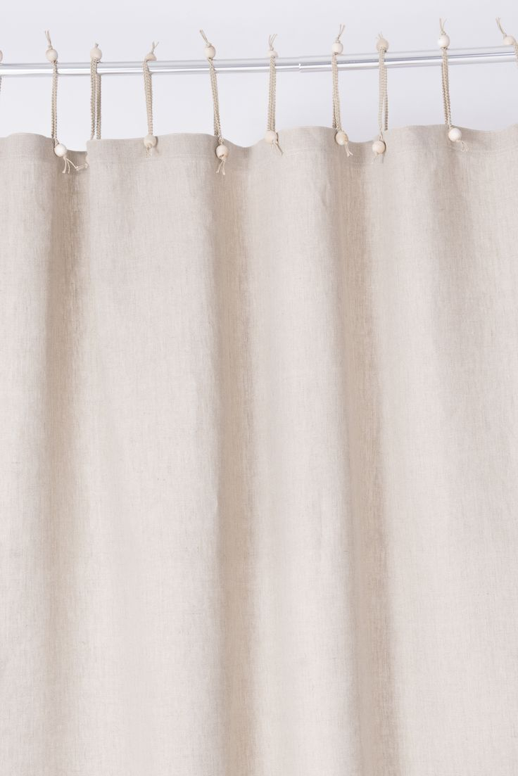 Organic Cotton Hemp Shower Curtains Ideas