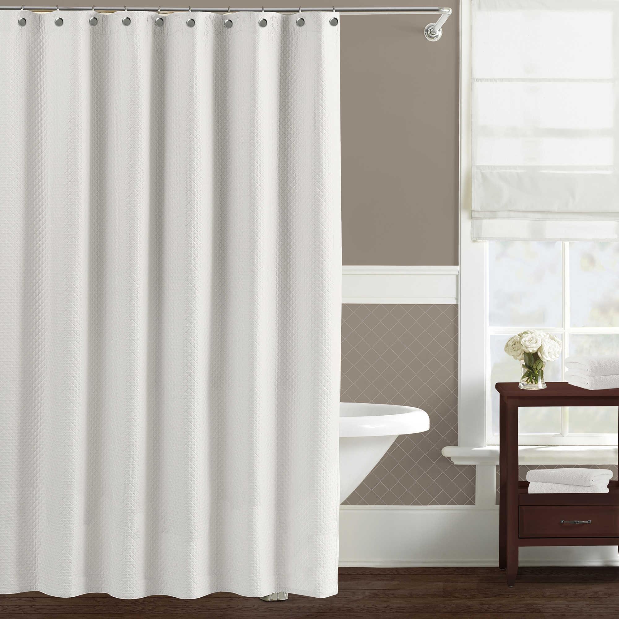 84 Long Fabric Shower Curtain Liner Intended For Dimensions 2000 X