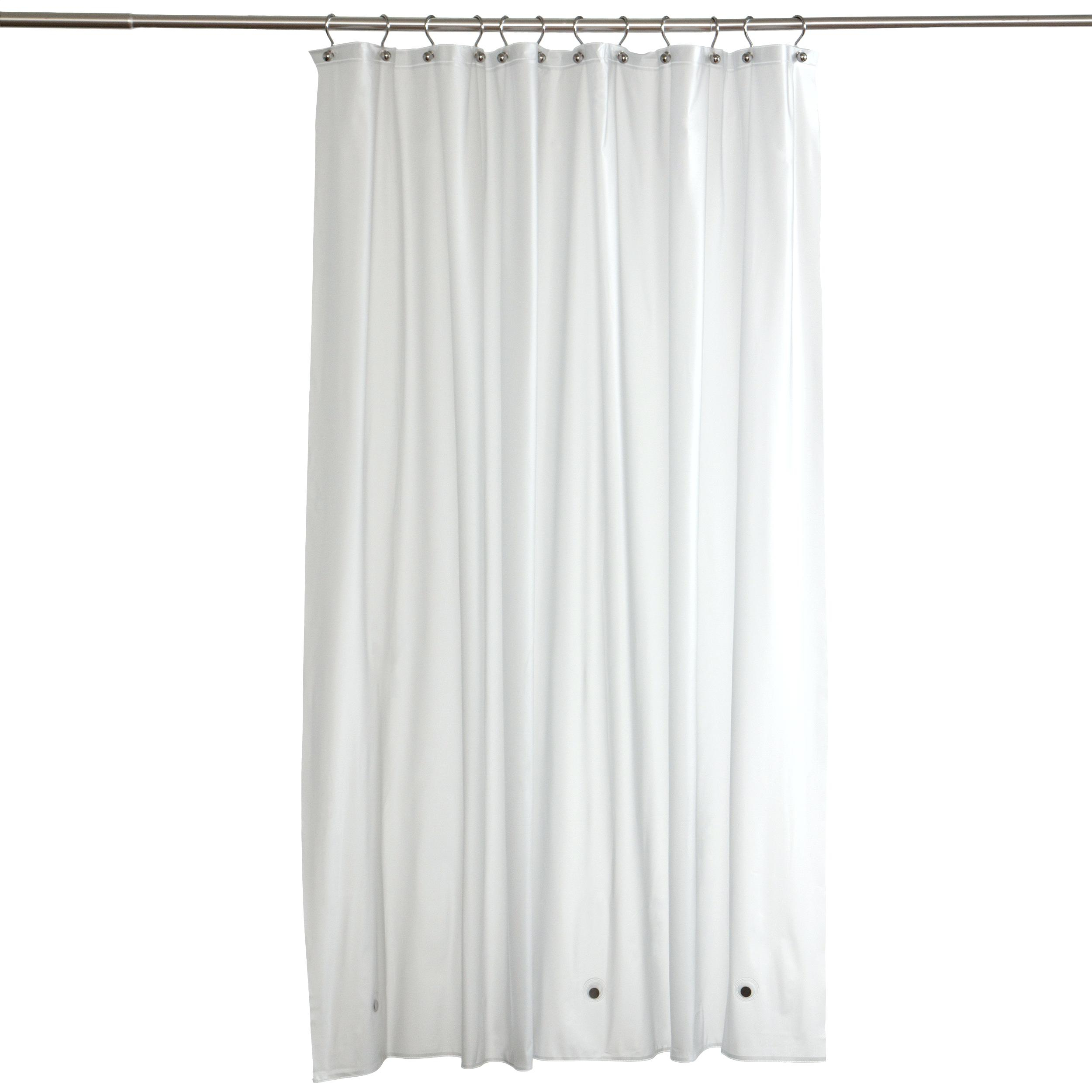 84 White Ruffle Shower Curtain Curtains Design Within Measurements 2500 X