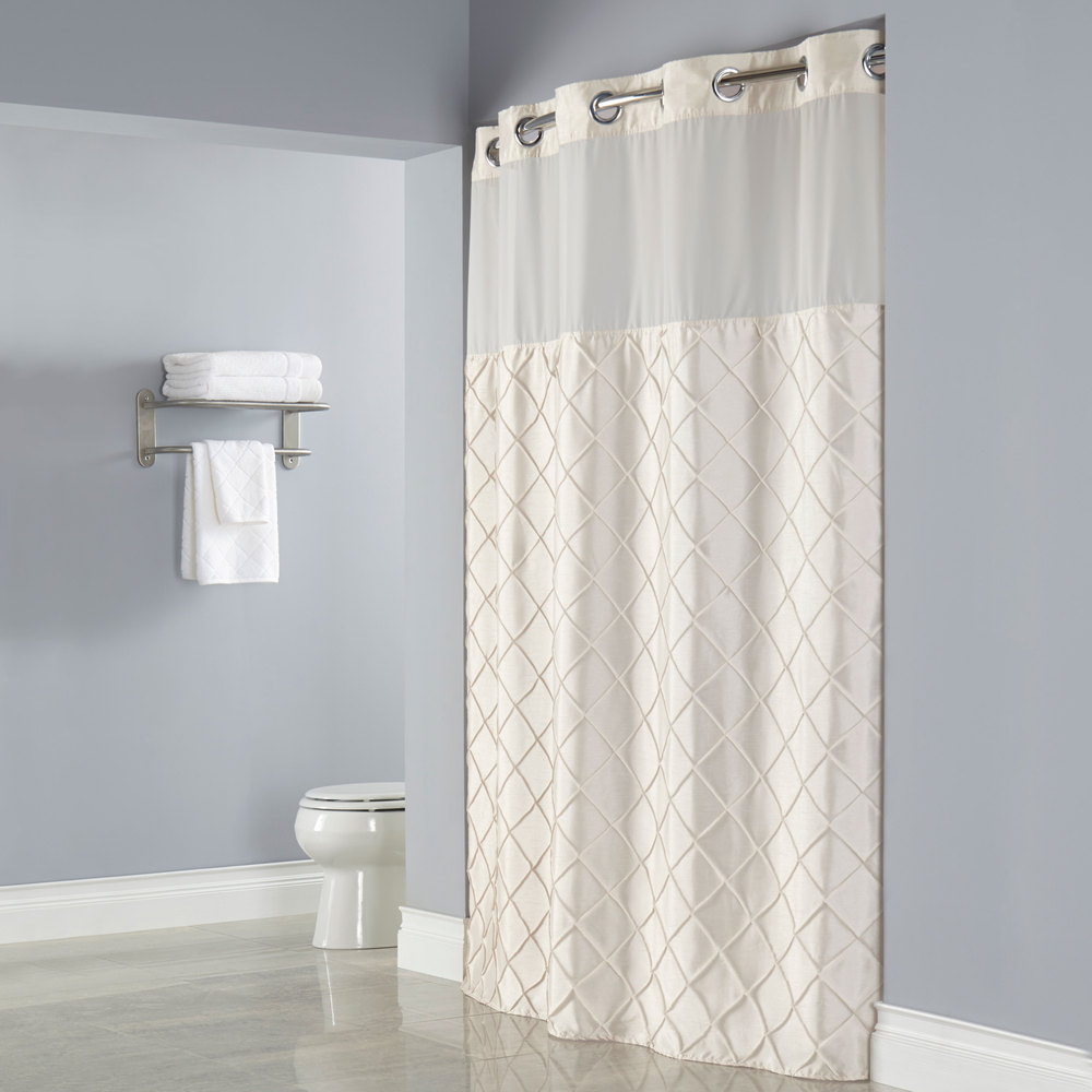 Nylon Shower Curtain Liner With Magnets • Shower Curtains Ideas