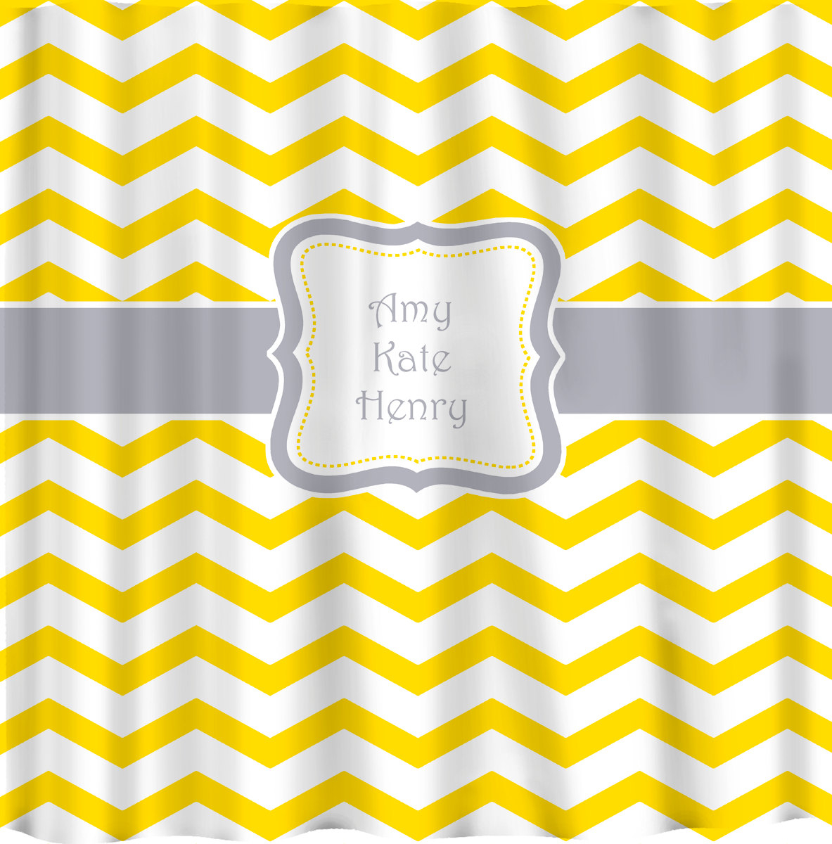 And Yellow Chevron Shower Curtain throughout dimensions 1183 X 1200
