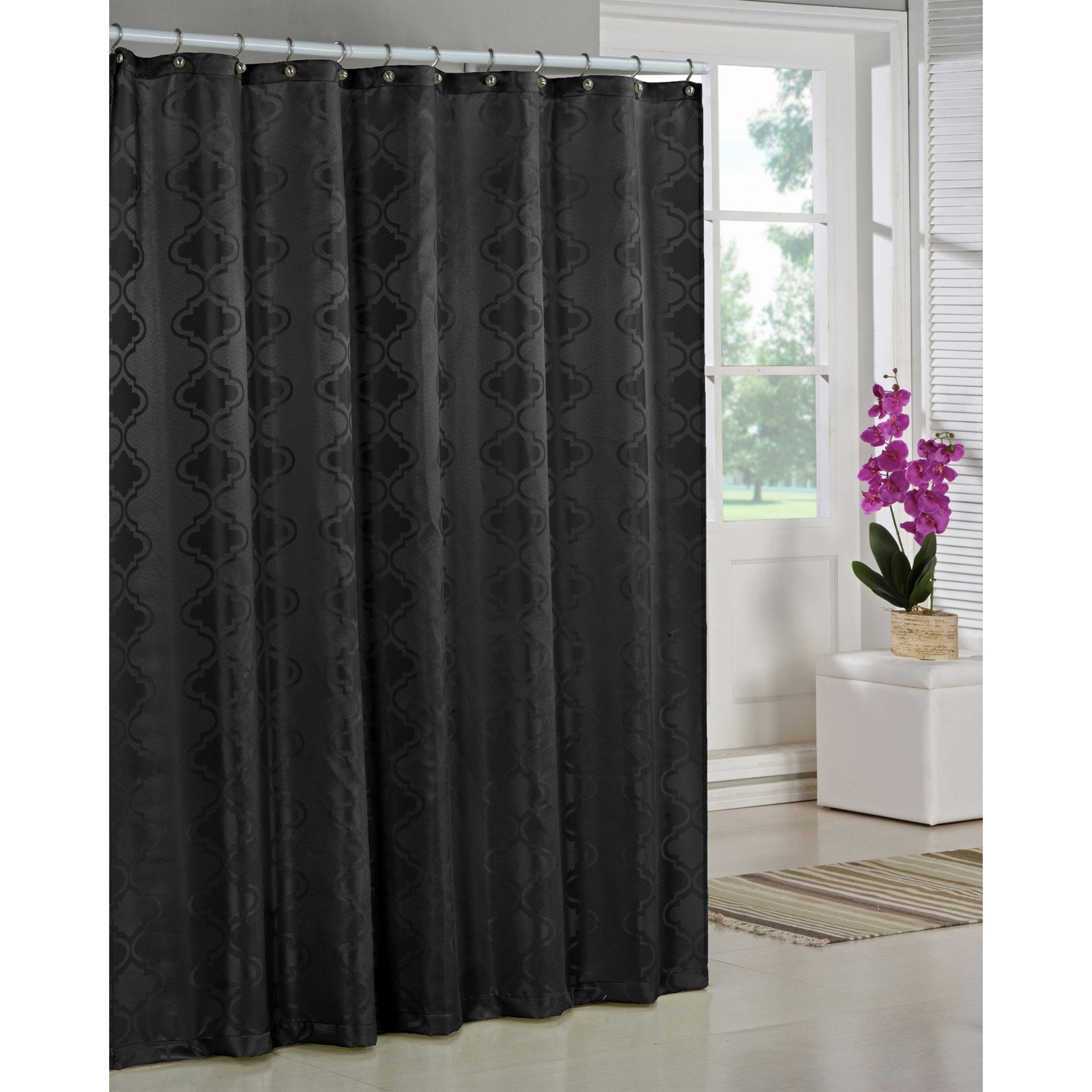 Awesome Solid Shower Curtain Pictures Inspiration Bathtub For pertaining to measurements 1600 X 1600