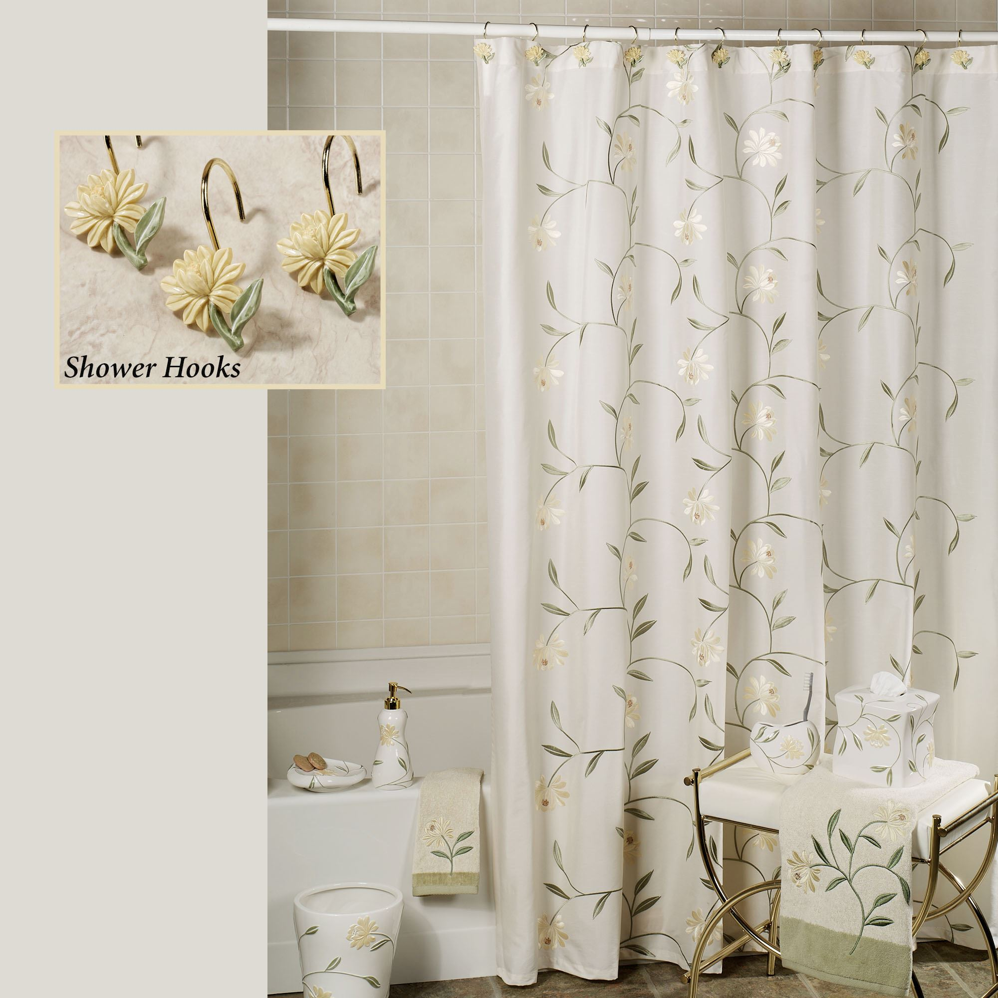 Bath Shower Curtains And Shower Curtain Hooks Touch Of Class Pertaining To  Dimensions 2000 X 2000