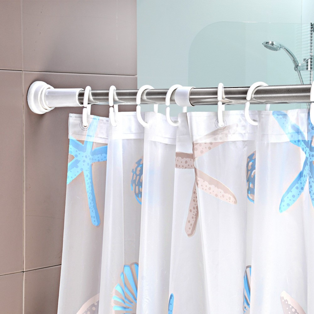 Portable Shower Curtain Rod • Shower Curtains Ideas