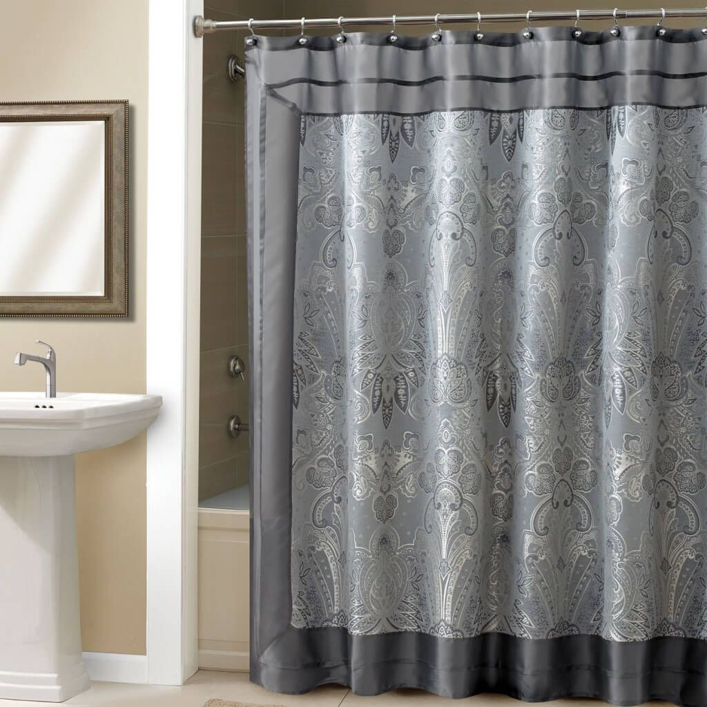 Bathroom Alluring Maroon Shower Curtain Panel Pertaining To Dimensions 1024 X