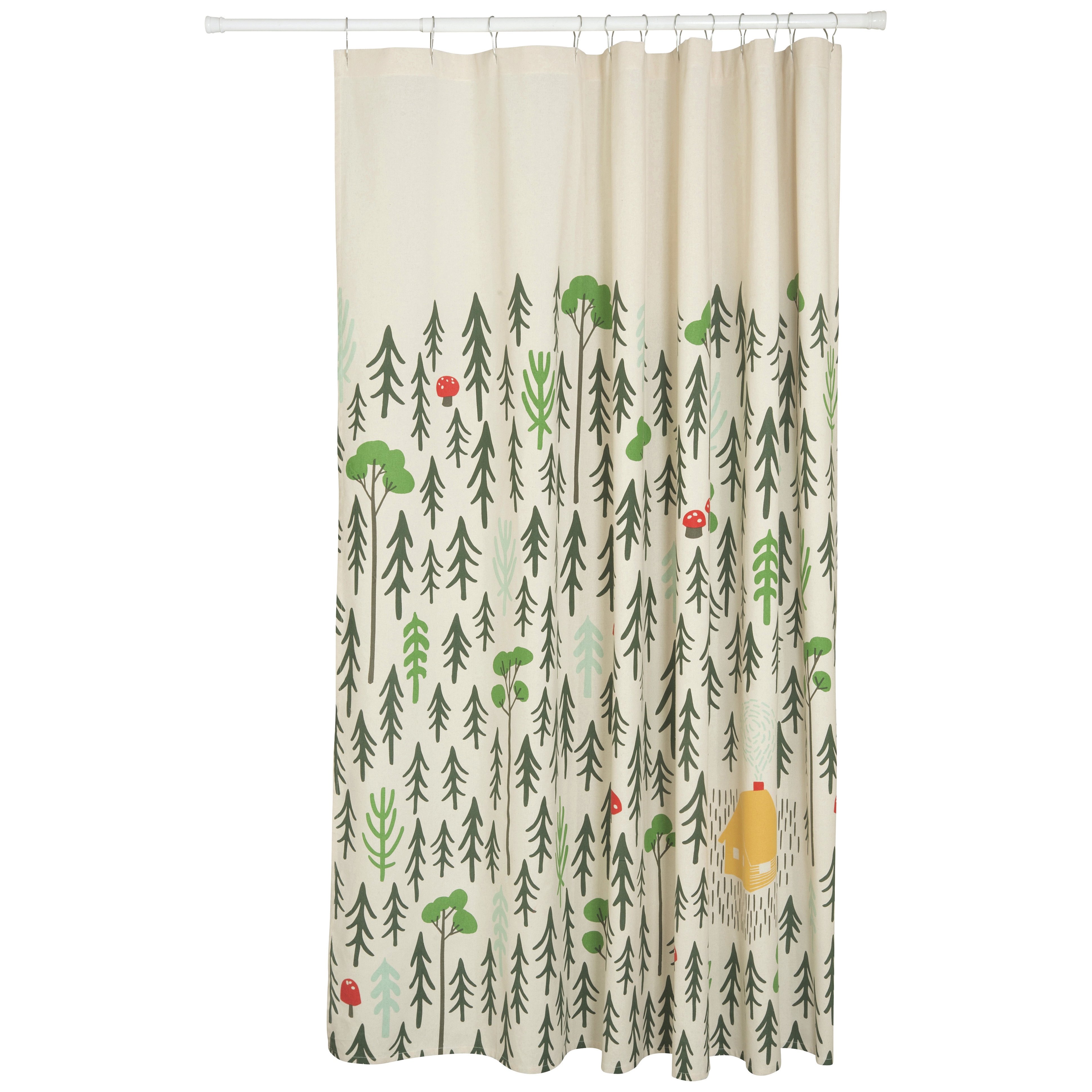 Bathroom Ideas Cotton Shower Curtain French Shab Chic Curtains intended for proportions 3881 X 3881