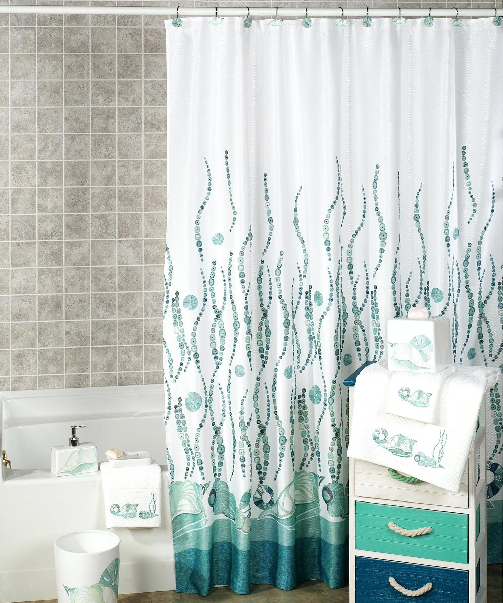 Bathroom Ocean Shower Curtain Cute Curtains Tribal Intended For Proportions 1653 X 1983