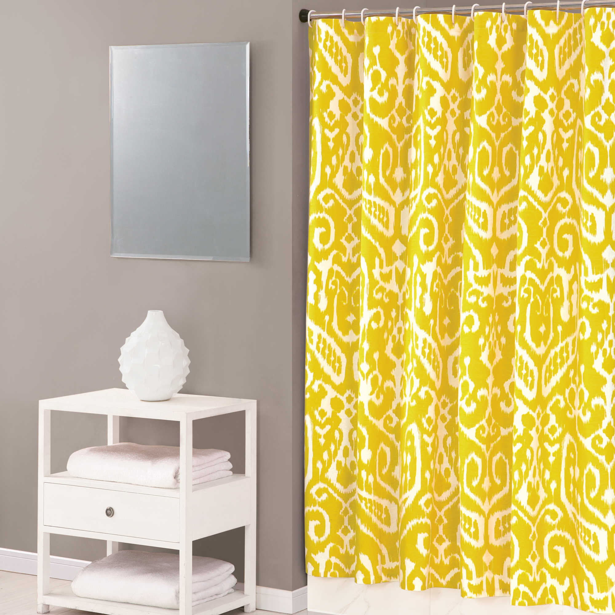 pink and yellow shower curtain. Bathroom Pink Eclectic Ikat Shower Curtain For Yellow And With  Regard To Size 2000 X Curtains Ideas