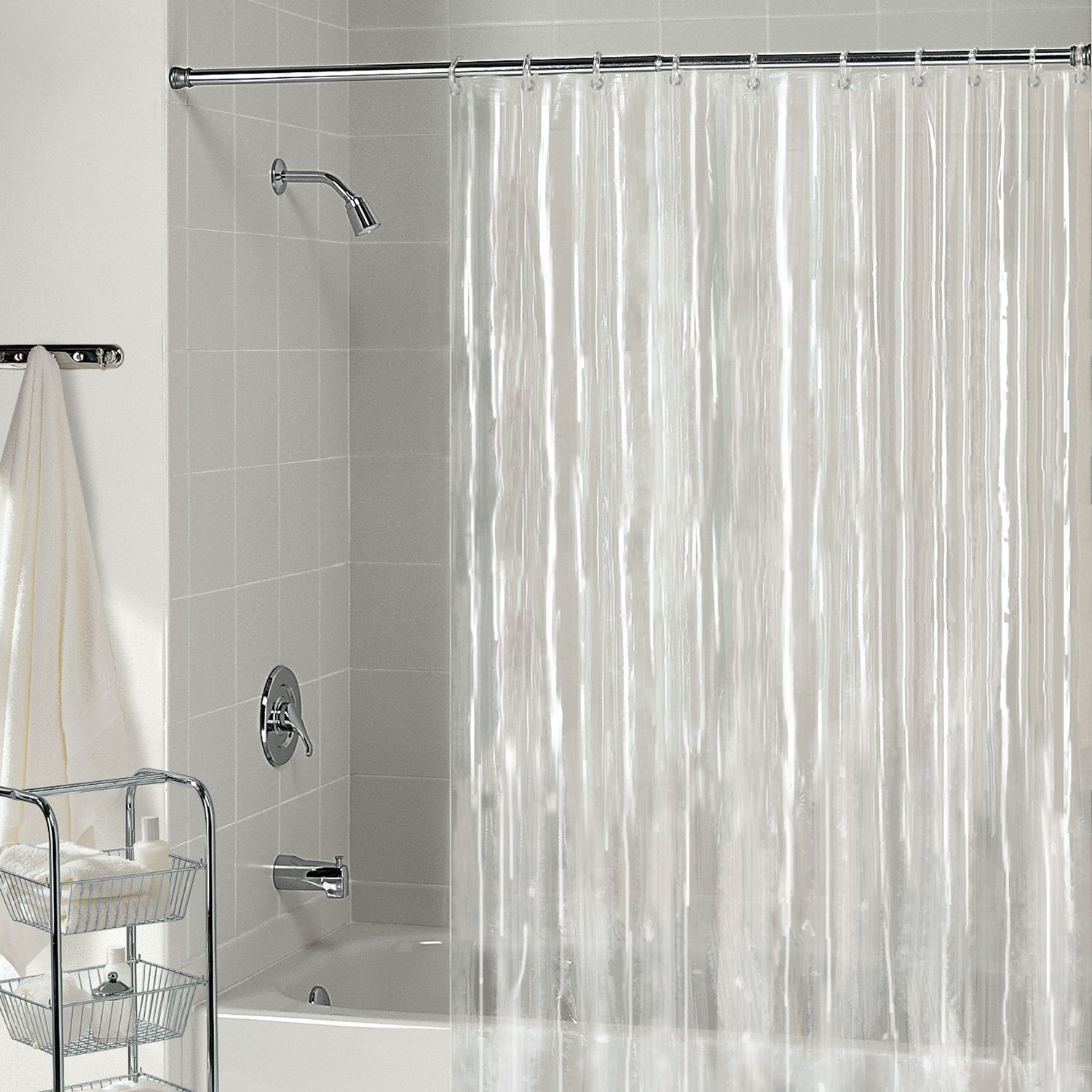Bathrooms With Clear Shower Curtains Shower Curtains Design pertaining to size 1500 X 1500