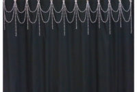 Beaded Shower Curtain Acessorybright Crystal throughout sizing 1500 X 1500