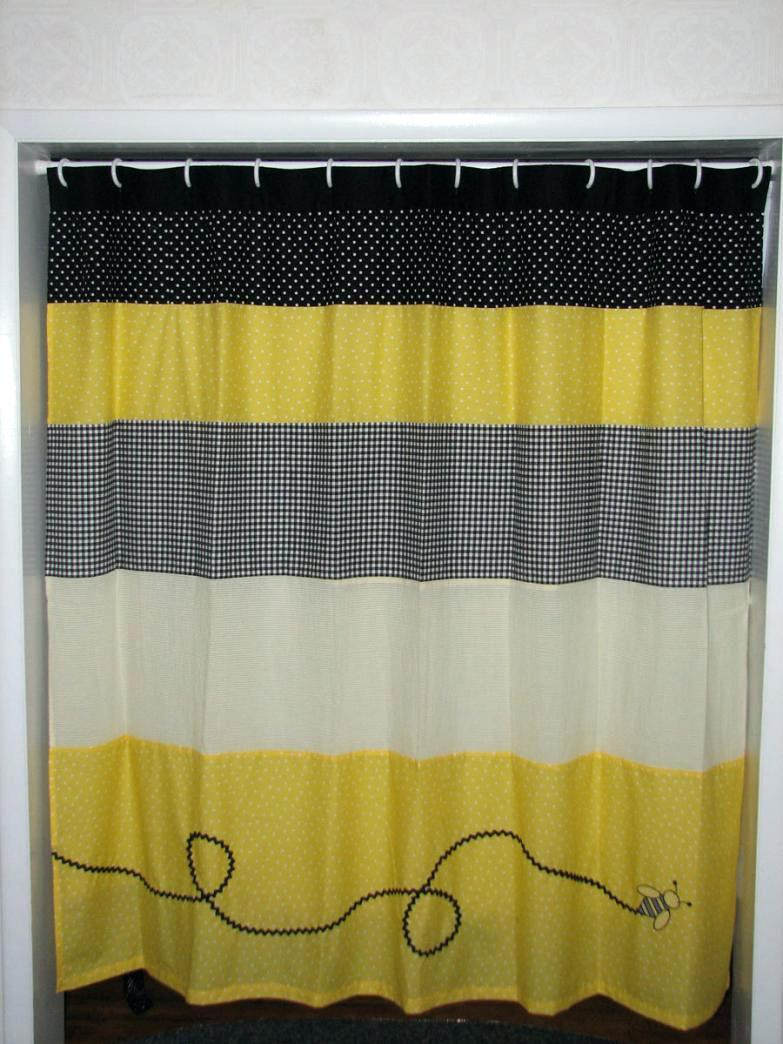 Beautiful Design Bee Shower Curtain Very Attractive Vintage Honey regarding measurements 783 X 1044