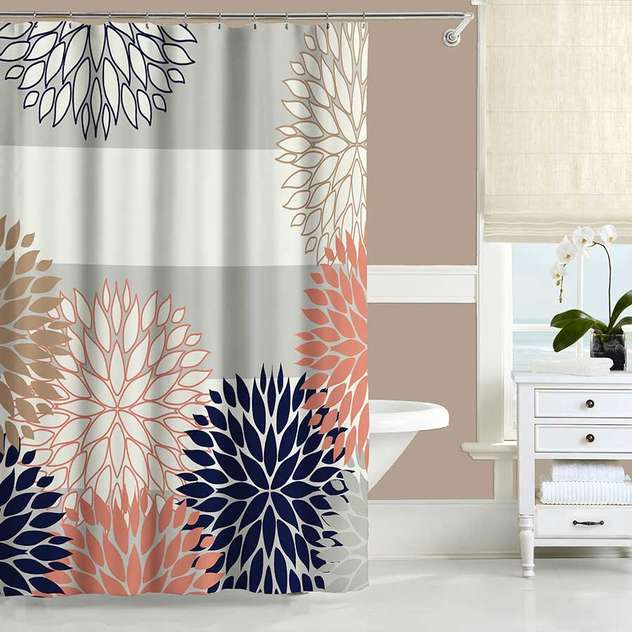 grey and orange shower curtain. Beautiful Orange And Grey Shower Curtain Gallery Bathtub For Within  Measurements 900 X Navy Blue Curtains Ideas