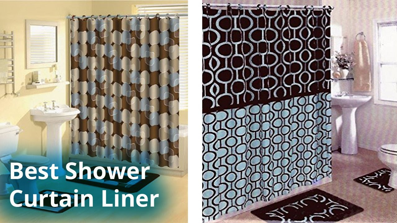 Best Shower Curtain Liner 2017 Shower Curtain Liner A Bathroom with dimensions 1280 X 720