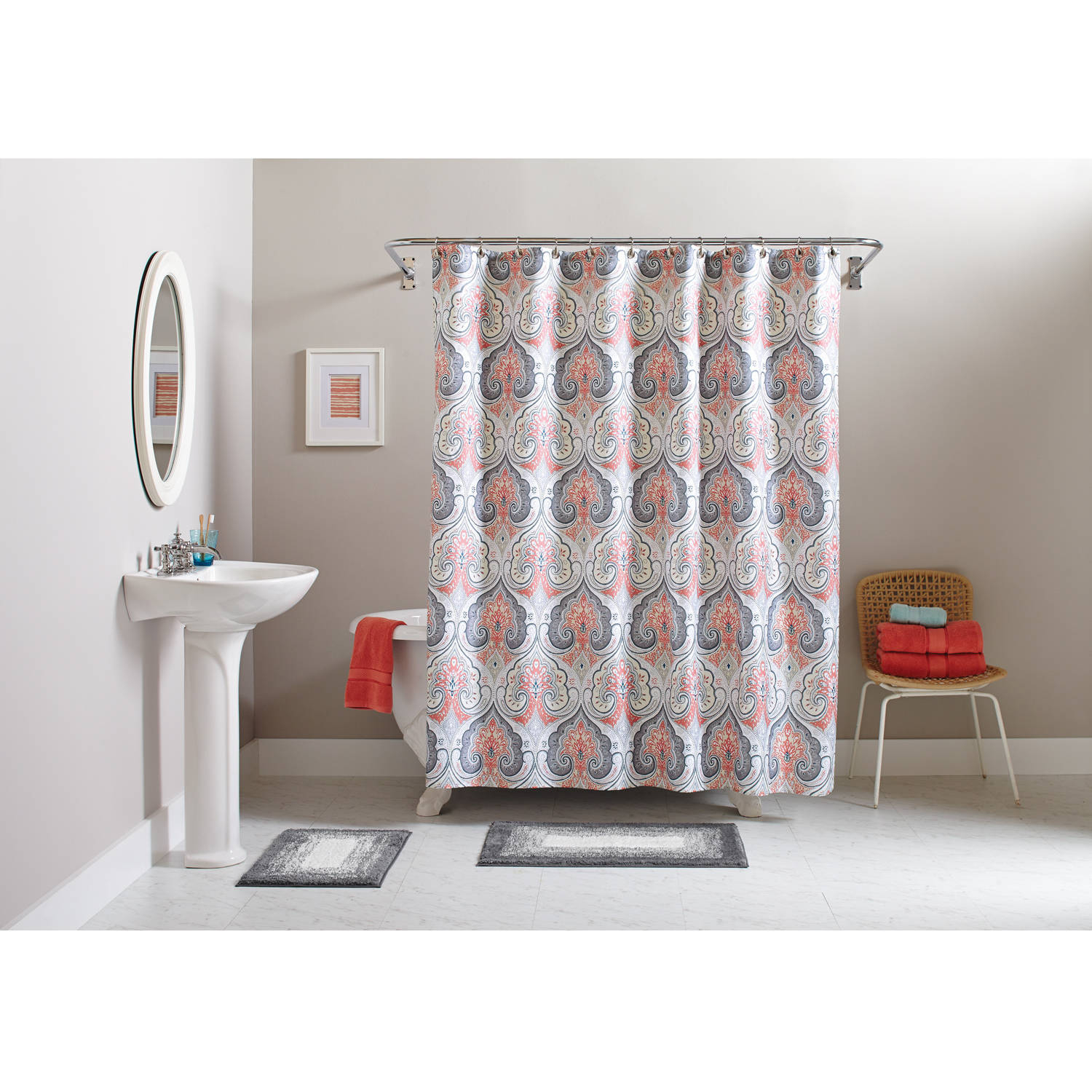 Better Homes And Gardens Shower Curtains Walmart inside proportions 1500 X 1500