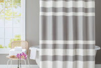 Better Homes And Gardens Waffle Stripe Fabric Shower Curtain with regard to sizing 2000 X 2000