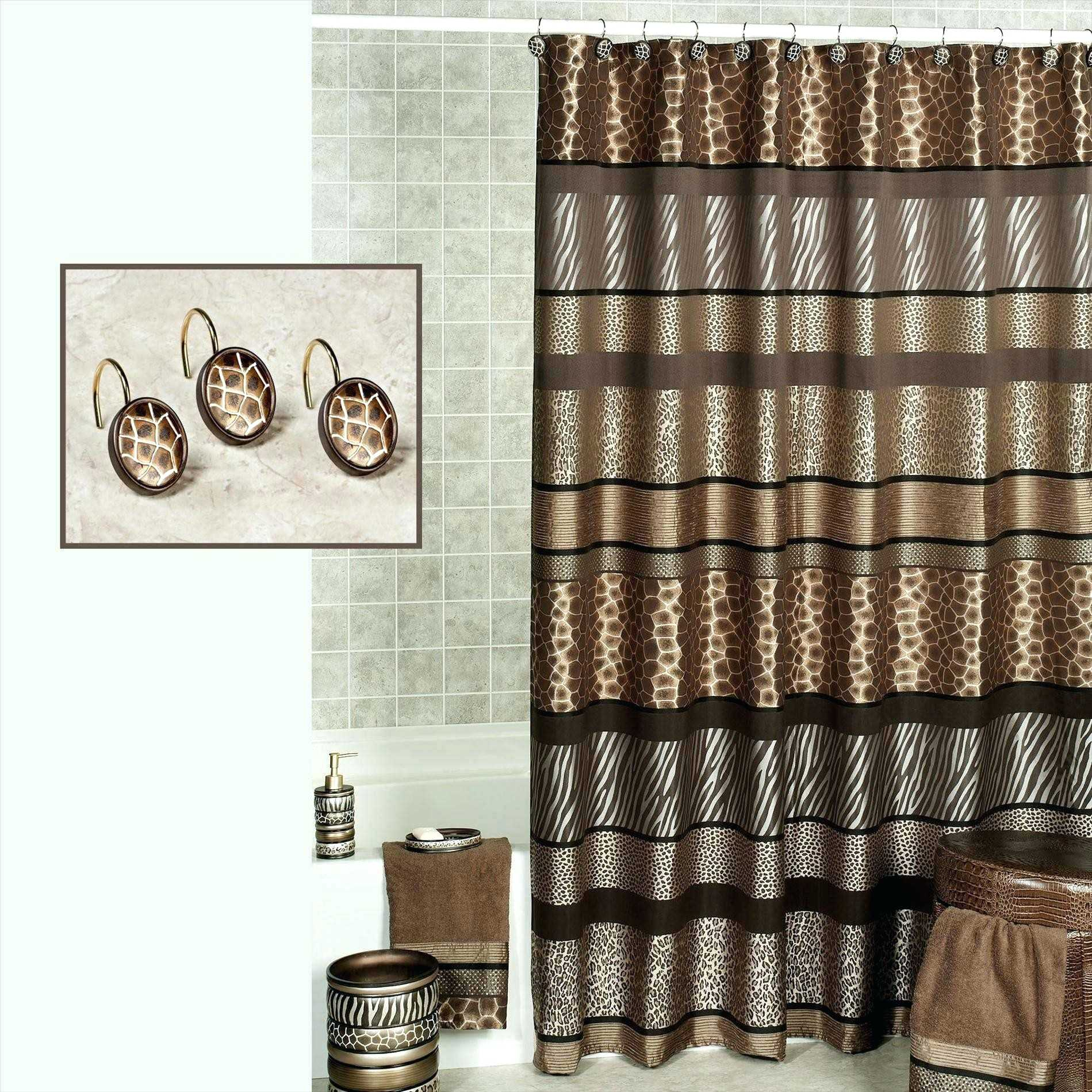 Black And Pink Zebra Shower Curtain Curtains Design Within Size 1899 X