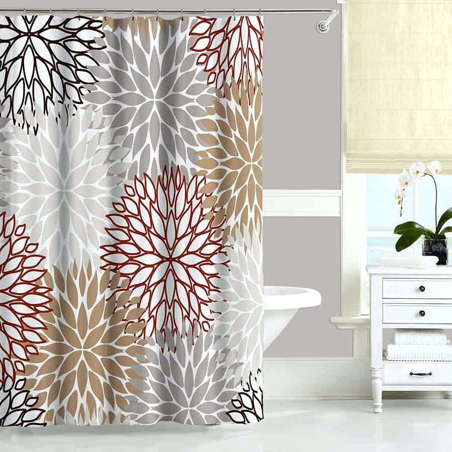 Black And Red Chevron Shower Curtain Shower Curtains Design For Dimensions  900 X 900