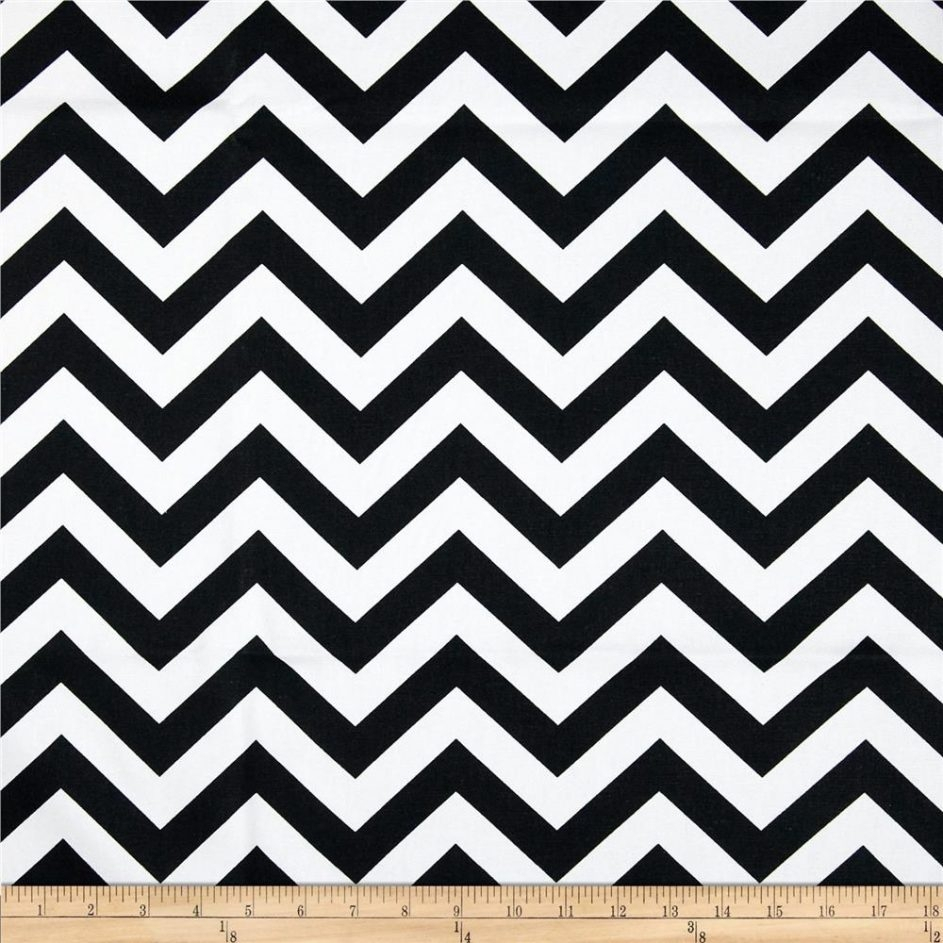 Black Chevron Print Shower Curtain Shower Curtain in measurements 943 X 943