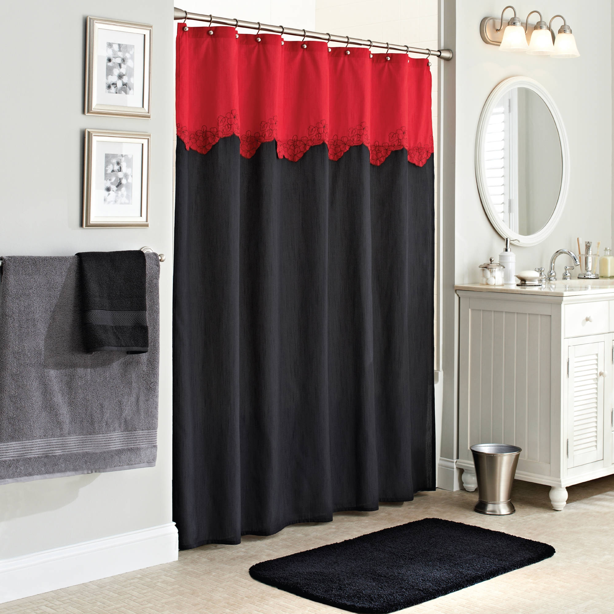 Exceptional Black Uga Shower Curtain Shower Curtain Inside Sizing 2000 X 2000