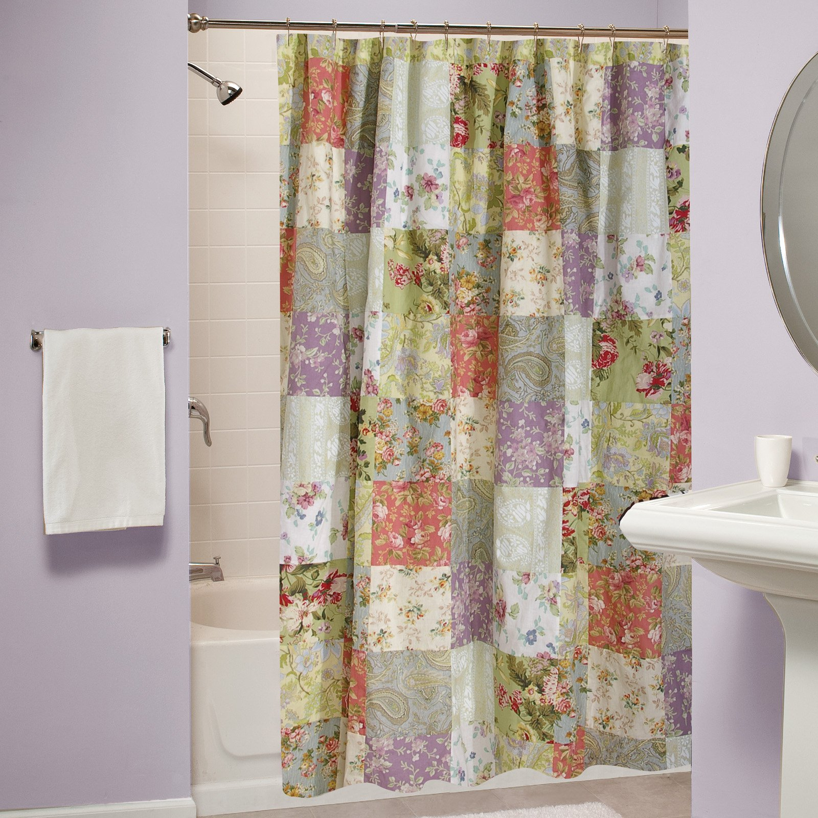 Blooming Prairie Shower Curtain Walmart with proportions 1600 X 1600