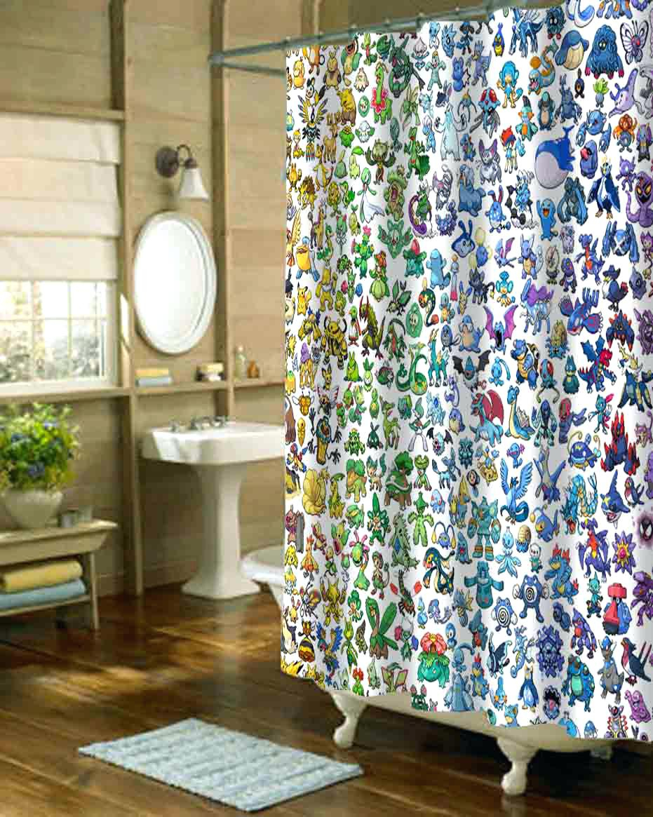 Brook Trout Shower Curtain Shower Curtains Design pertaining to proportions 931 X 1165