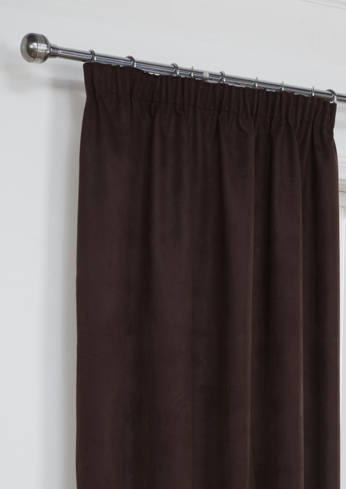 Brown Faux Suede Shower Curtain Shower Curtain pertaining to measurements 1450 X 2048
