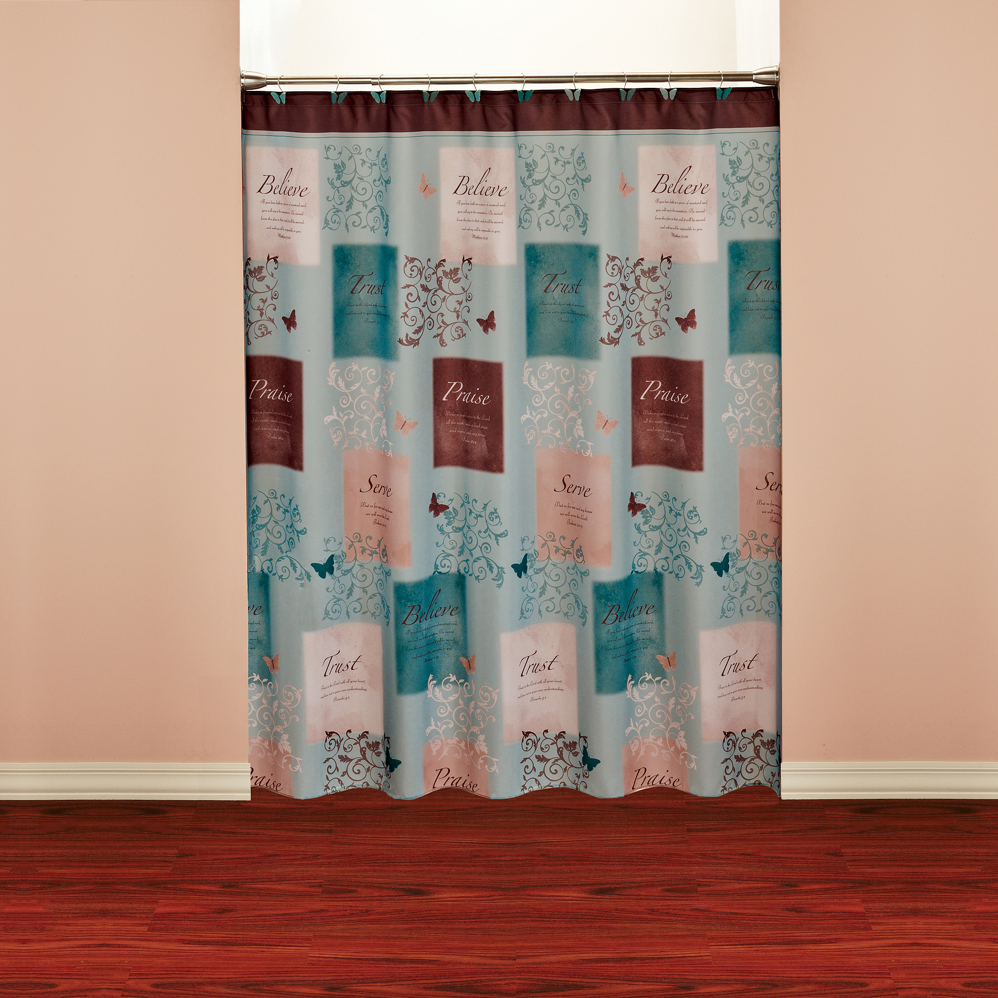Butterfly Shower Curtain for dimensions 2000 X 2000