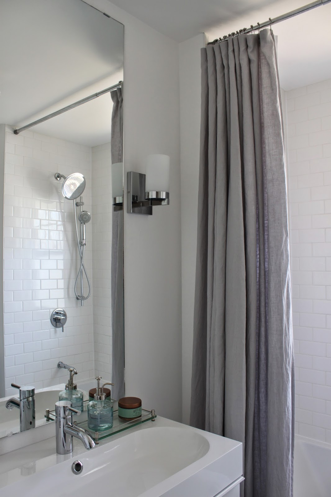 Shower Curtain From Ceiling To Floor Shower Curtains Ideas