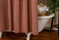 Classic Country Check Shower Curtain Sturbridge Yankee Workshop pertaining to size 2000 X 2000