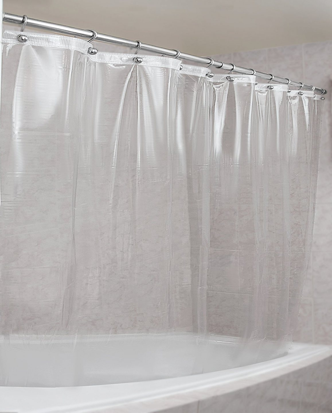 Clear Plastic Shower Curtain Rods • Shower Curtains Ideas