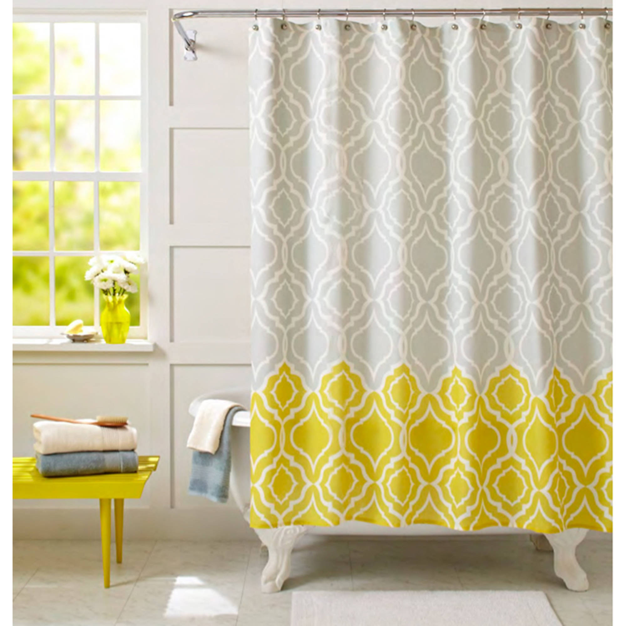 Coffee Tables Grey Window Valance Ombre Ruffle Shower Curtain throughout sizing 2000 X 2000
