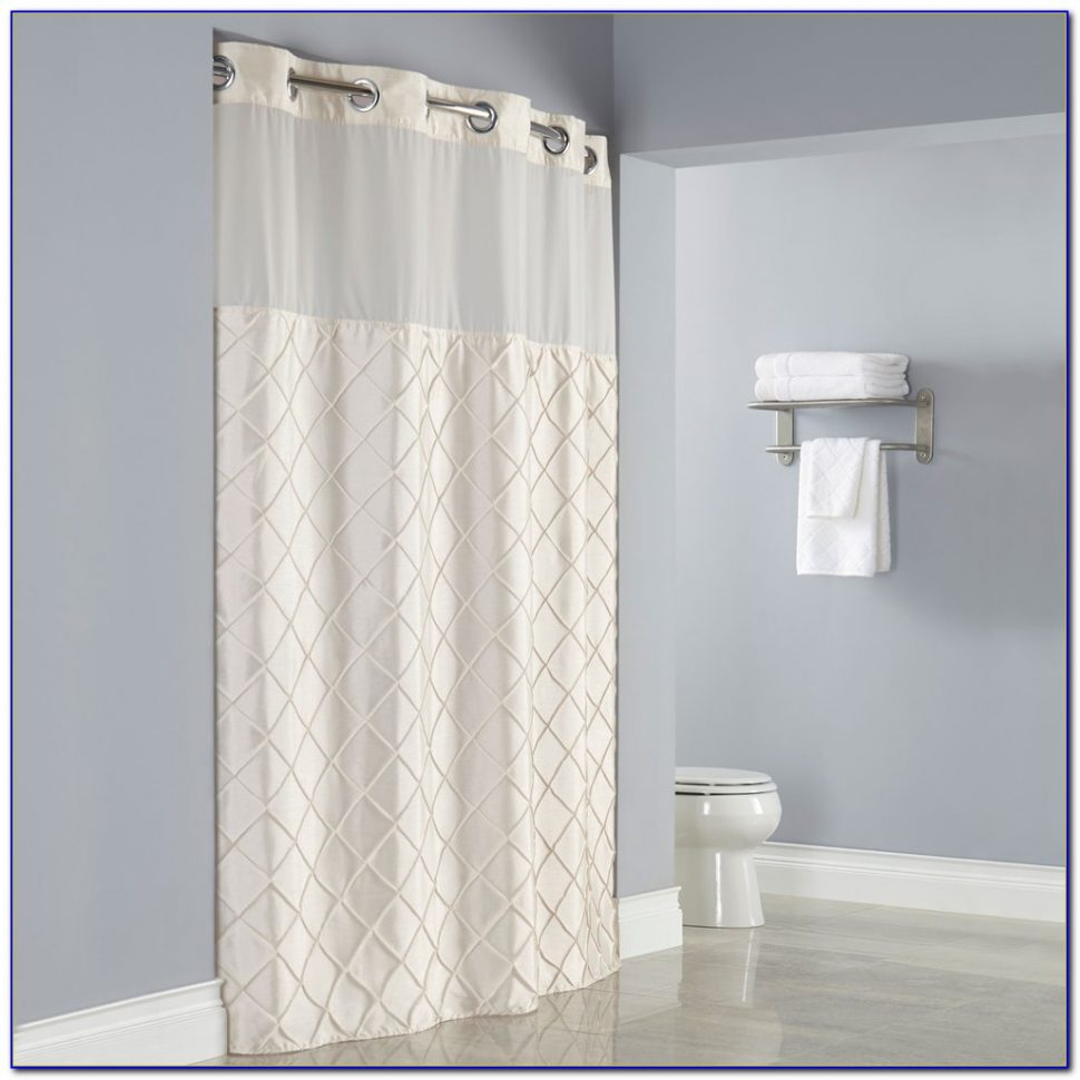 Hookless Shower Curtain Clear Panel Shower Curtains Ideas