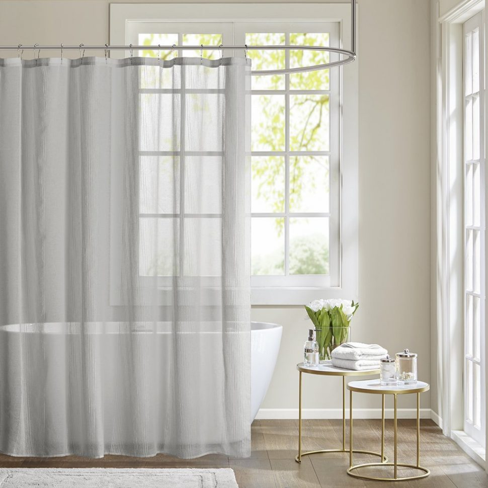 Coffee Tables Horizontal Striped Shower Curtain Striped Shower for proportions 970 X 970