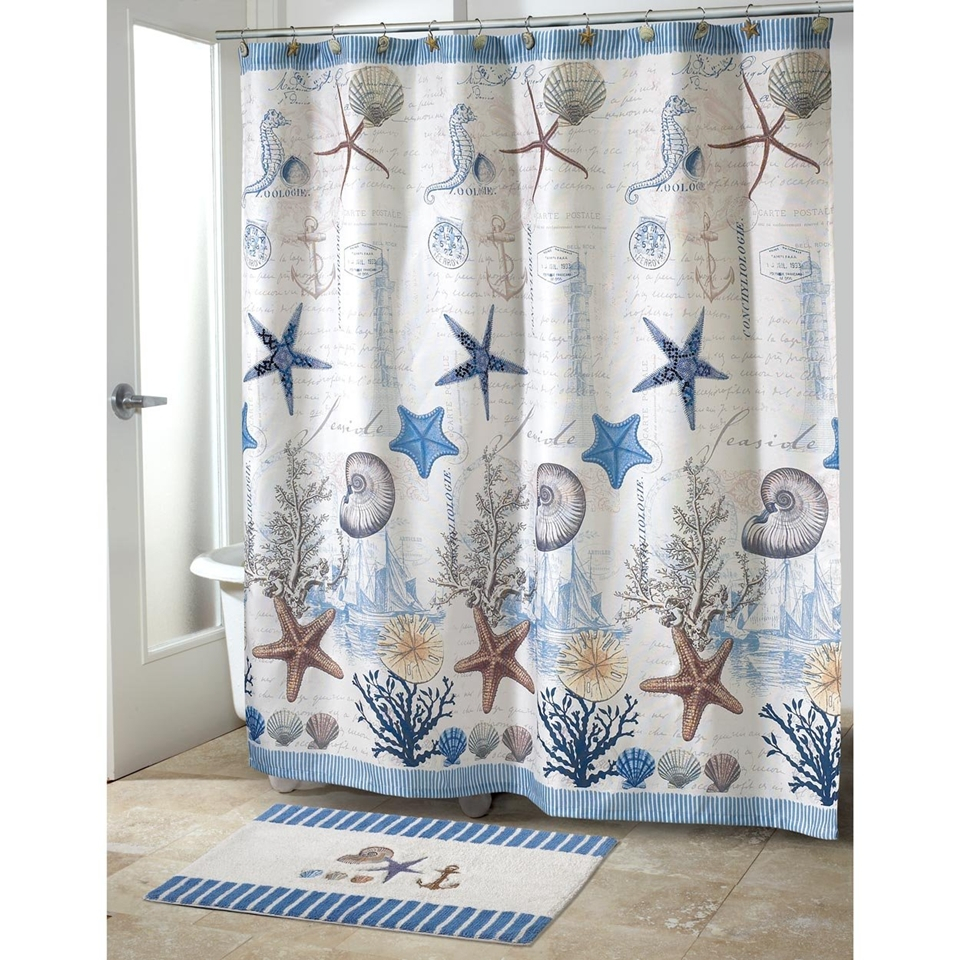 Coffee Tables Seashell Shower Curtain Target Seashell Shower inside proportions 960 X 960