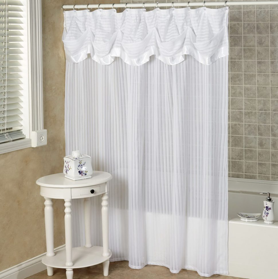 Coffee Tables Shower Curtain Valance Ideas Curtains With Regard To Proportions 970 X 975