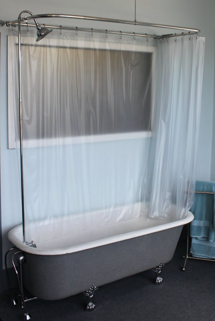 Shower Curtain Rod For Corner Garden Tub • Shower Curtains Ideas