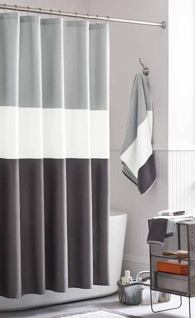 Male shower curtains home the honoroak for Male bathroom decor