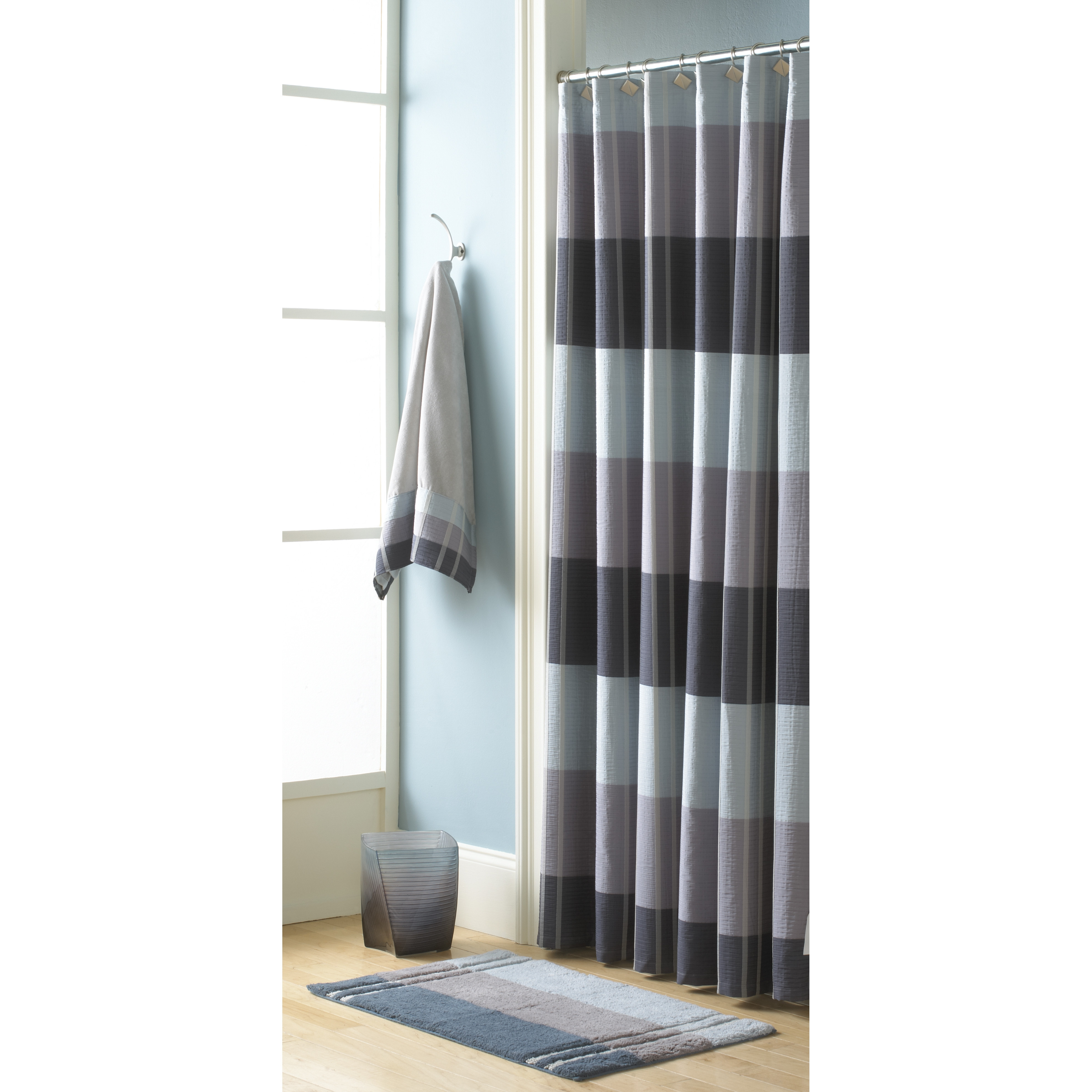 Croscill Fairfax Slate Shower Curtain Ideas Intended For Measurements 3957 X