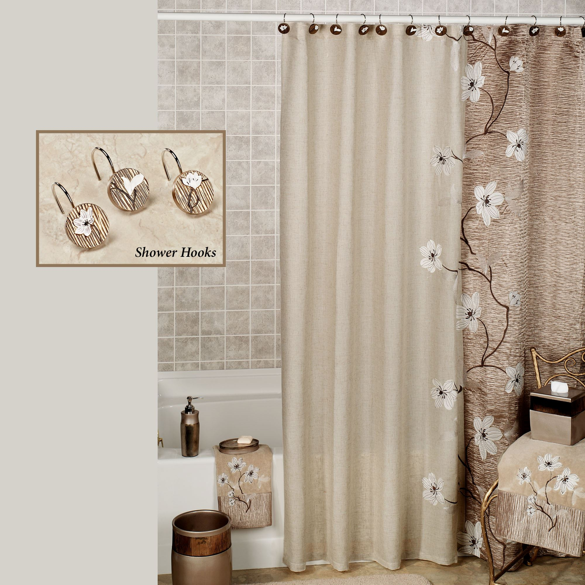 bath spa curtains pin tropical modern century retro shower mid tiki curtain