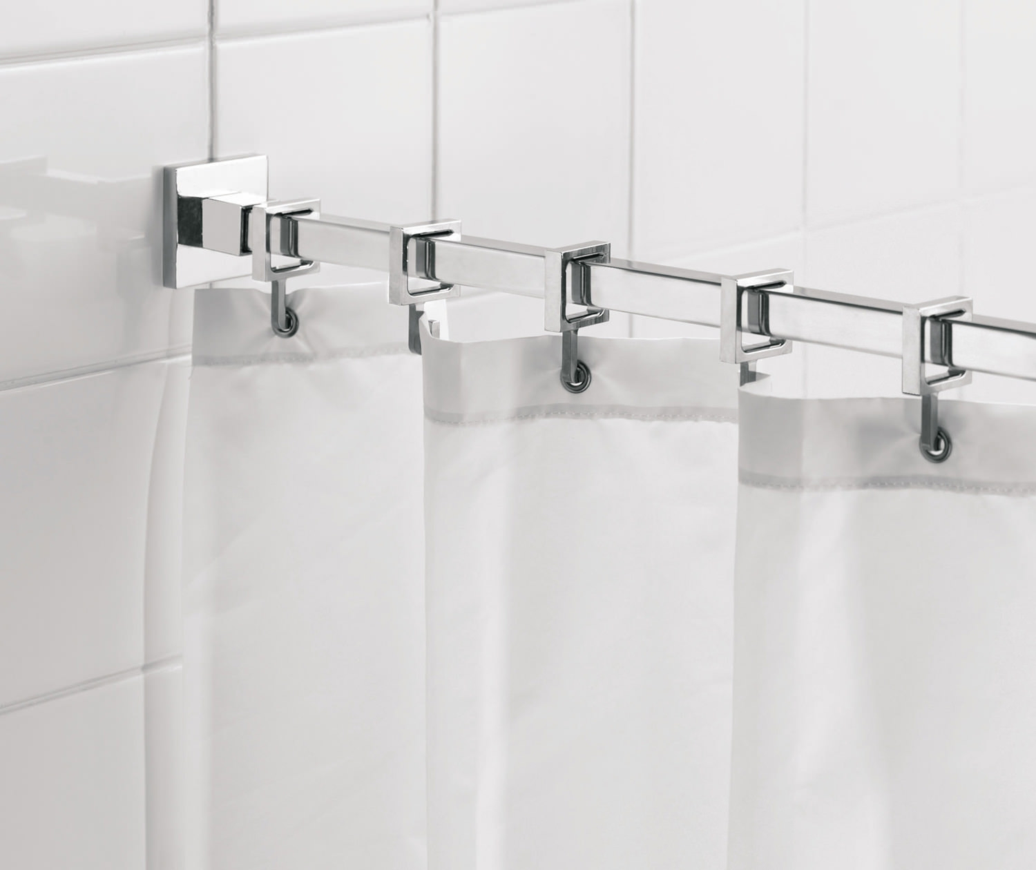 Croydex Shower Curtain Hooks And Gliders