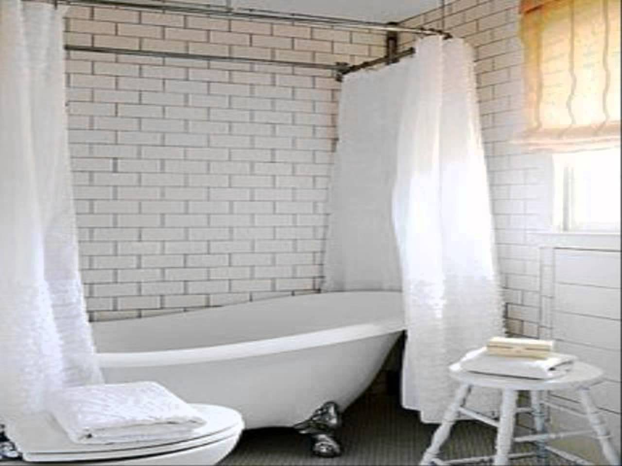 Shower Curtains For Footed Tubs • Shower Curtains Ideas