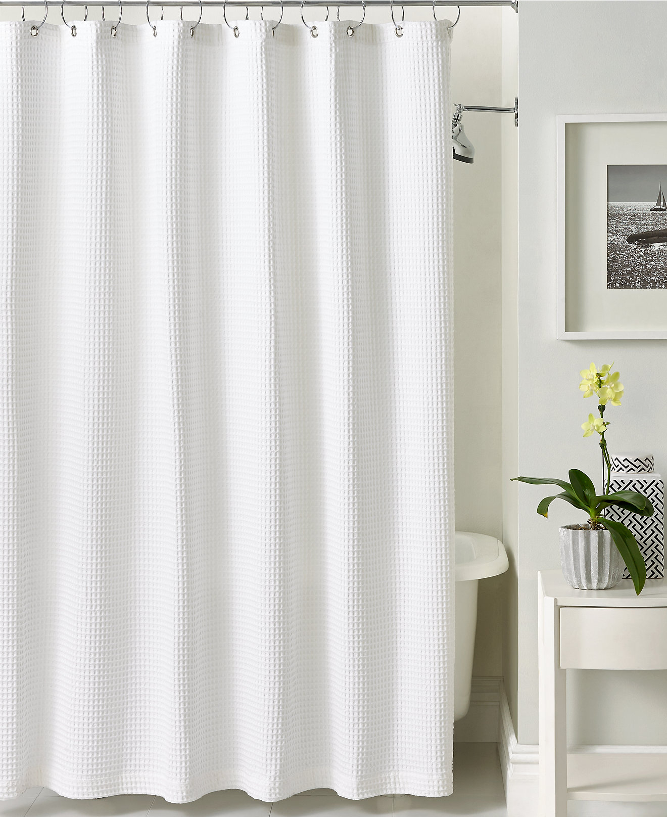 Hotel Collection Shower Curtain Bed Bath Beyond • Shower Curtains ...