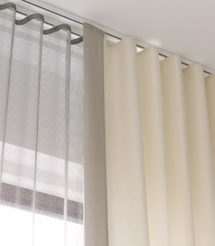 Flexible Ceiling Shower Curtain Track • Shower Curtains Ideas