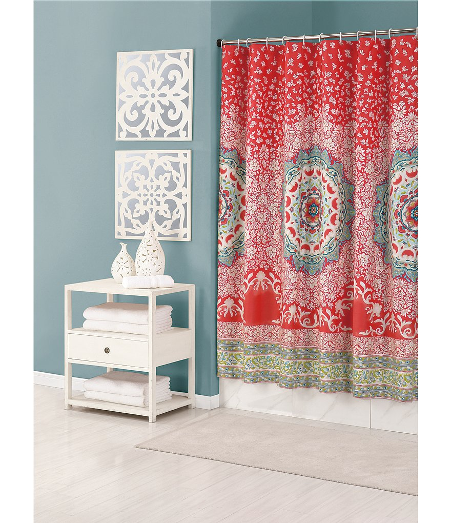 Curtains Bohemian Style Shower Curtain Bohemian Shower Curtains inside sizing 880 X 1020