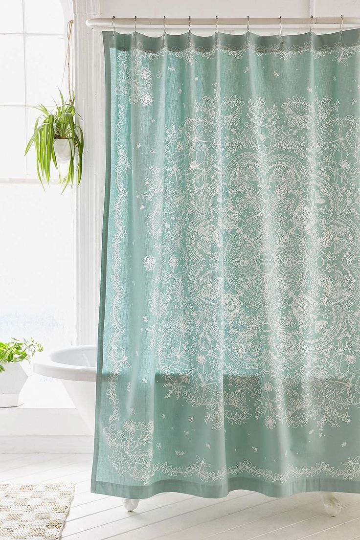 Curtains Bohemian Style Shower Curtain Intended For Proportions 736 X 1104