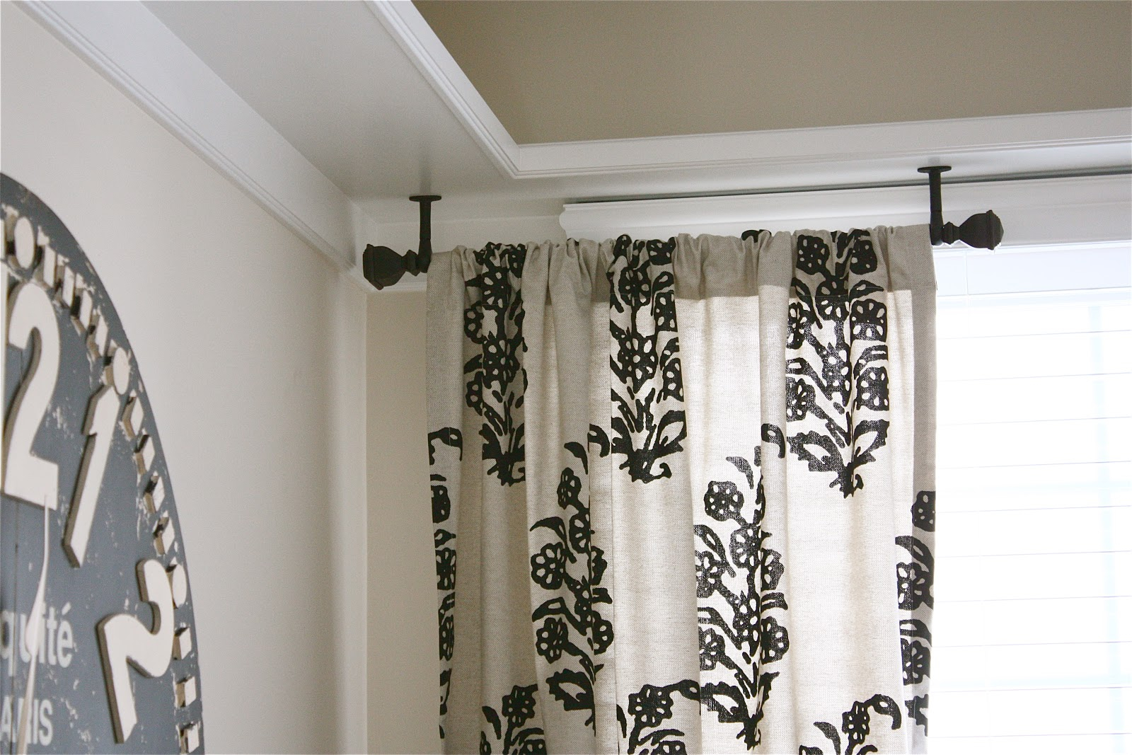 Curtains Ceiling Mounted Curtain Rod Ceiling Mounted Shower with regard to proportions 1600 X 1067
