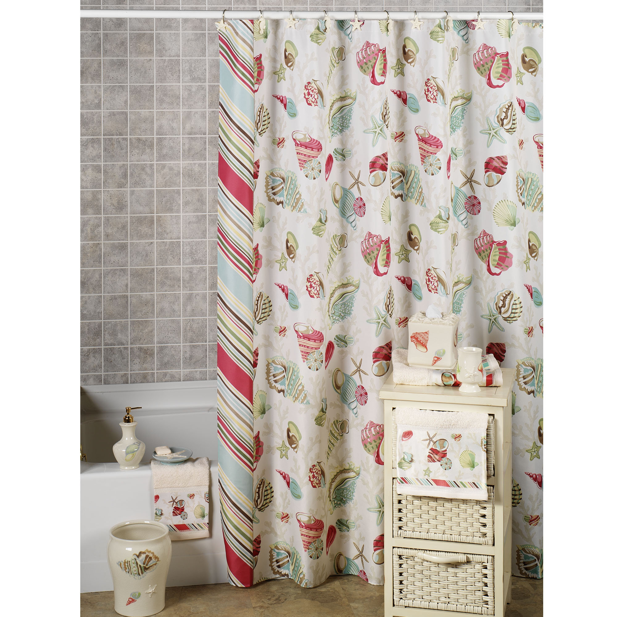 Curtains Coral And Teal Shower Curtain Solid Navy Blue Throughout Size 2000 X
