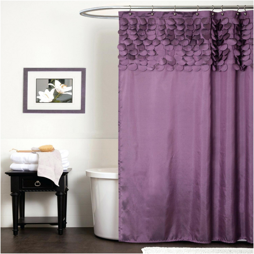 Curtains Drapes Fabulous Lavender Shower Curtain Imposing with sizing 970 X 970
