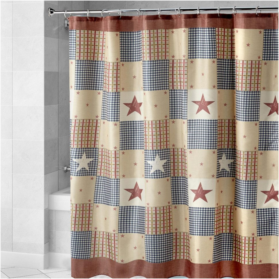 Patriotic Themed Shower Curtain • Shower Curtains Ideas